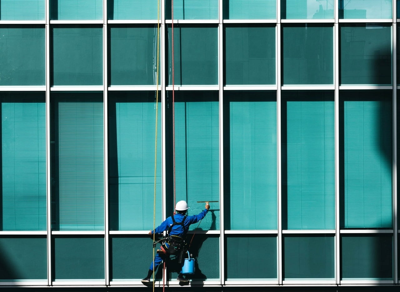 Commercial Window Cleaning Washing